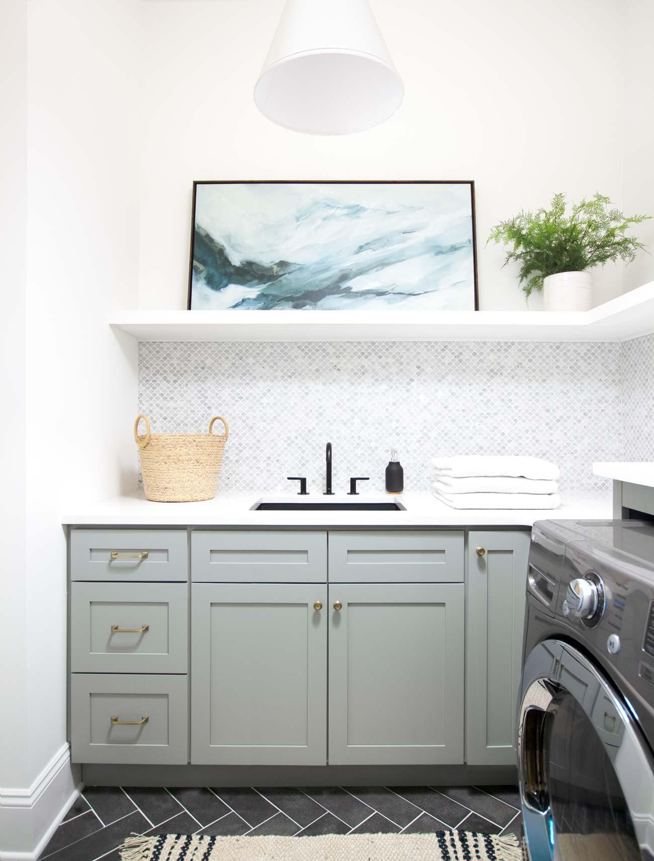 best laundry room paint colors for