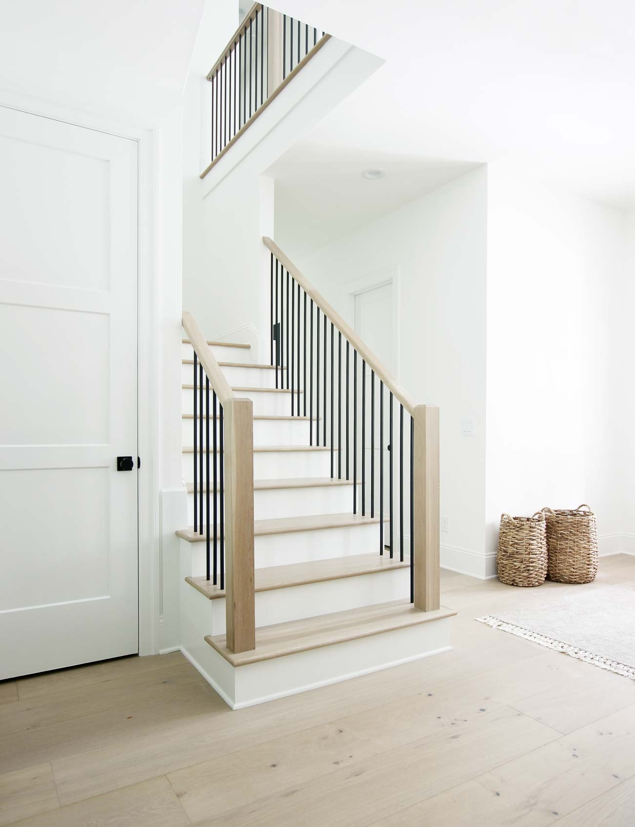 How To Match Solid Stair Treads To Prefinished Hardwood Flooring | Hardwood Floor Stair Treads | Wooden | Hand Scraped | Redwood | Pergo Floor | Laminate Flooring