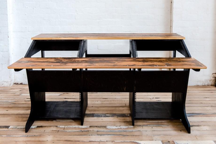 Desk Black Baltic Front