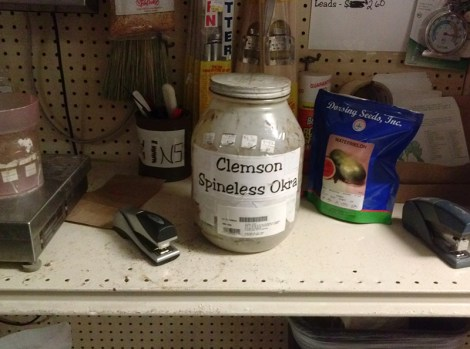At the hardware store in Darien, GA