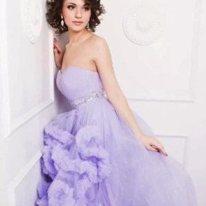 Pilla Blue gown