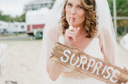 έκπληξη γάμου