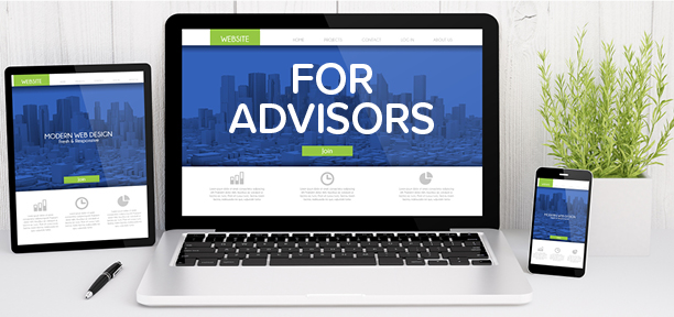 financial advisor planned giving websites and marketing tools