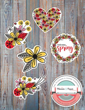 March Die Cuts (5 Count)