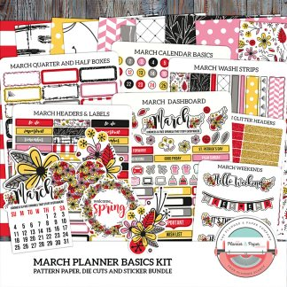 March Planner Basic Kit