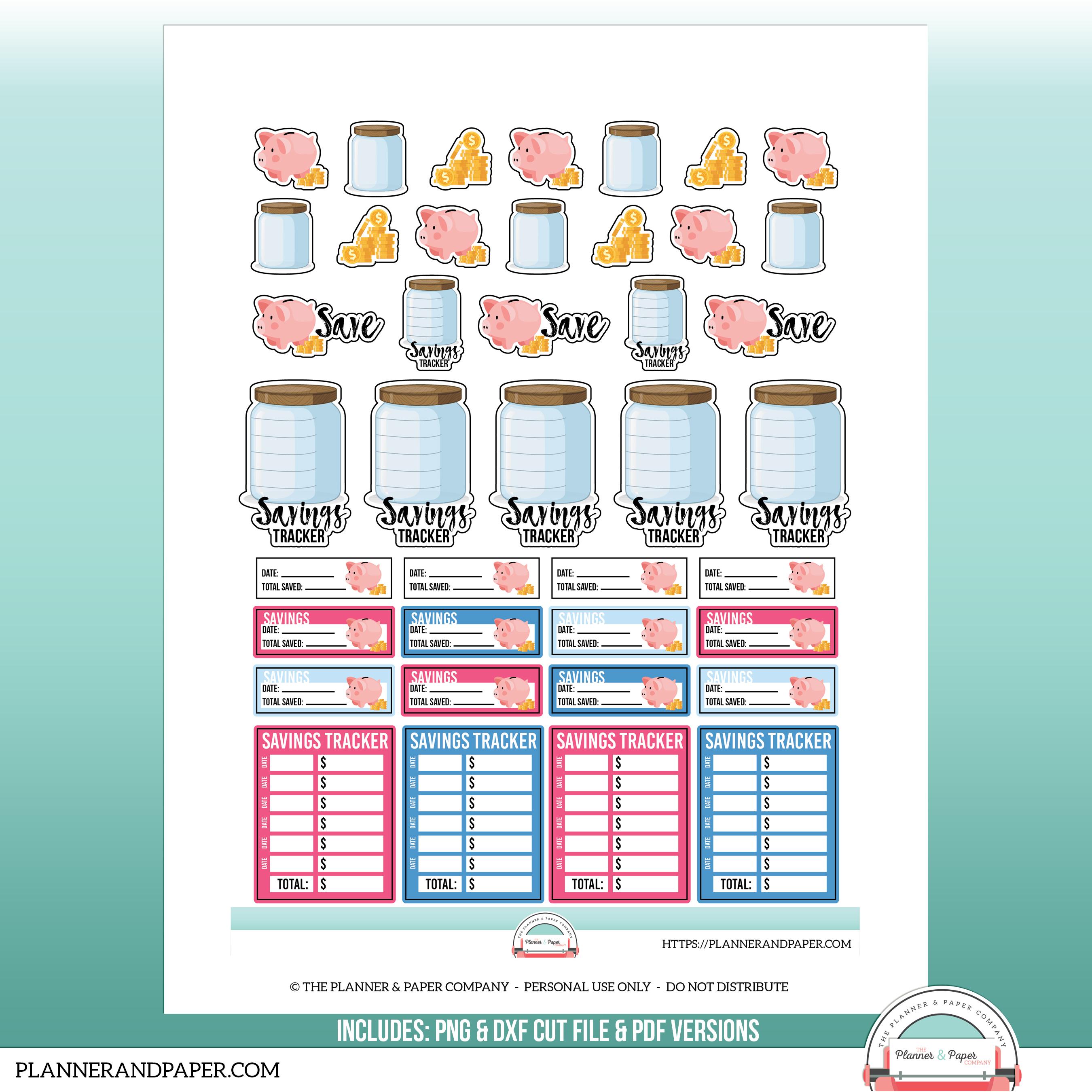 photograph regarding Printable Sticker Sheet titled Printable Preserving Planner Sticker Sheet
