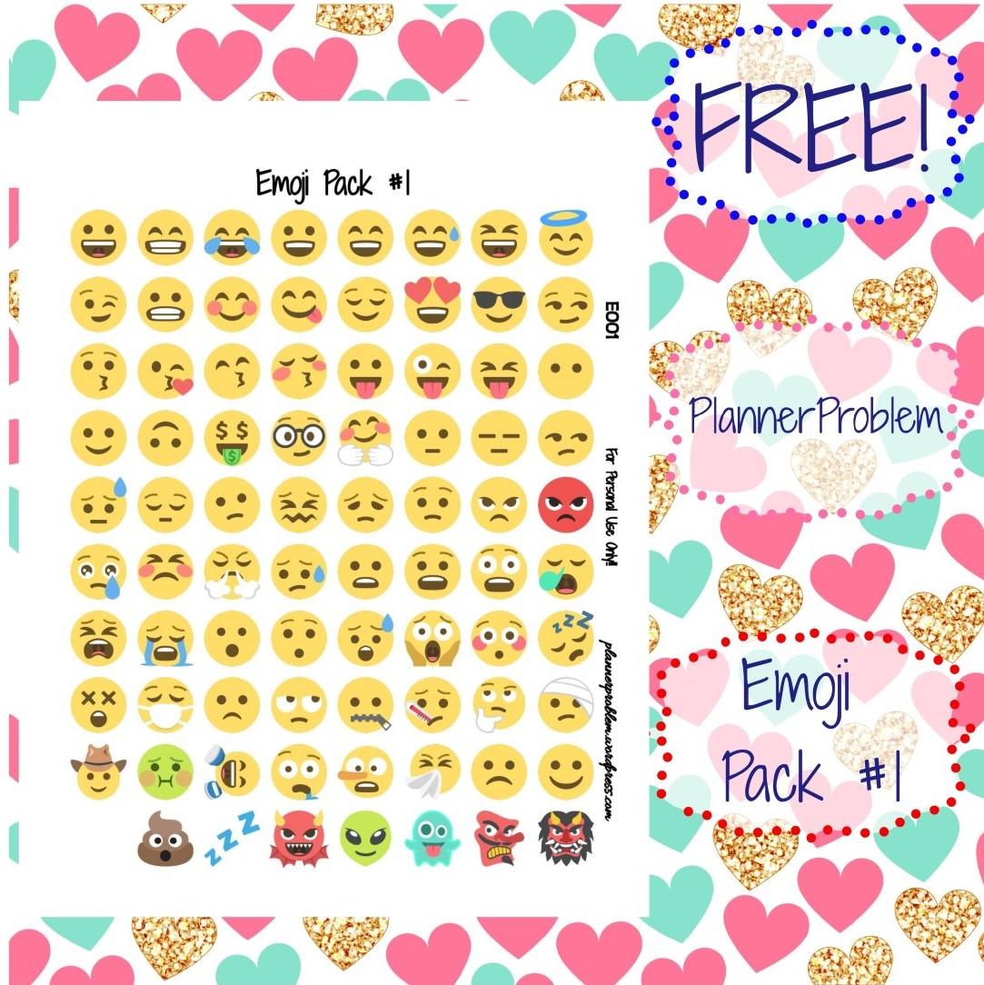 Emoji Pack 1