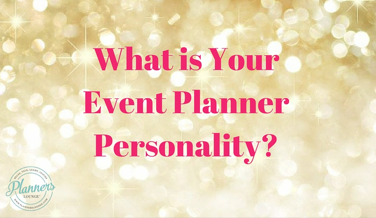 what is your event planner personality