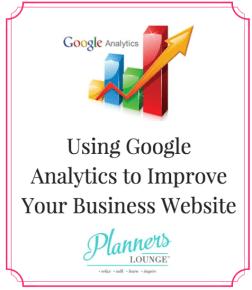 google analytics wedding business
