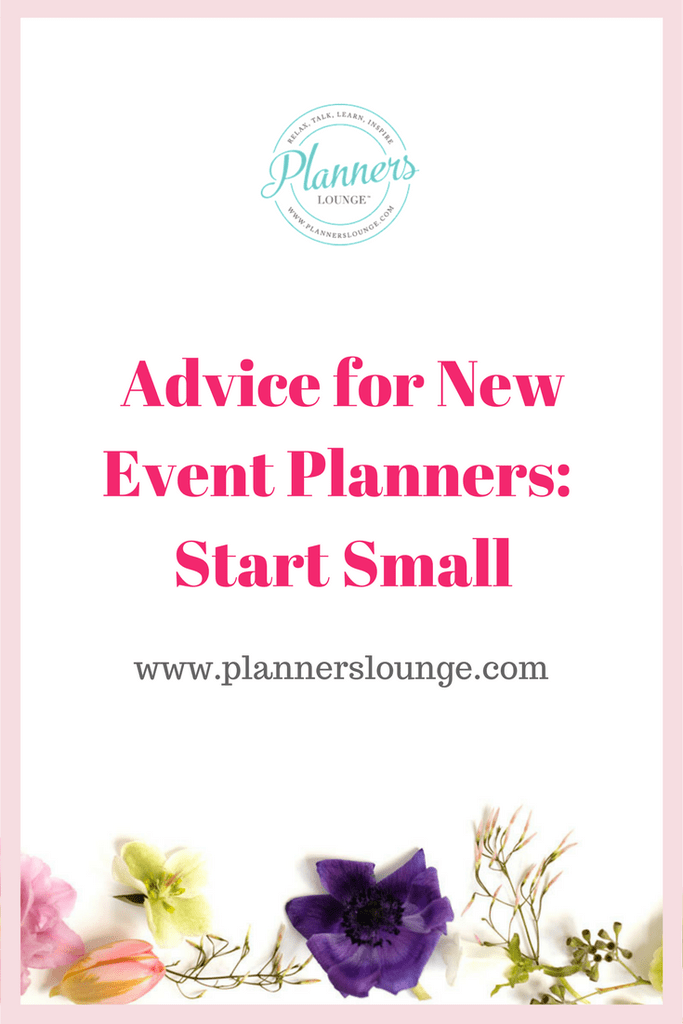 When you are new to wedding and event planning, start by offering limited services such as wedding management (often called month-of or day-of coordination services).   Once you feel comfortable with providing solid professional wedding management services, you can expand to offer partial event planning.  Learn more about becoming a wedding planner and working as a wedding planner on Planner\'s Lounge.