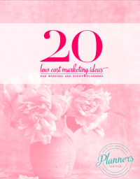 Free Marketing Guide for Wedding Planners