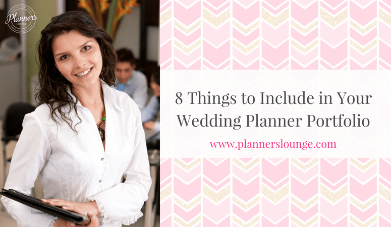 What to Include in Your Wedding Planning Portfolio