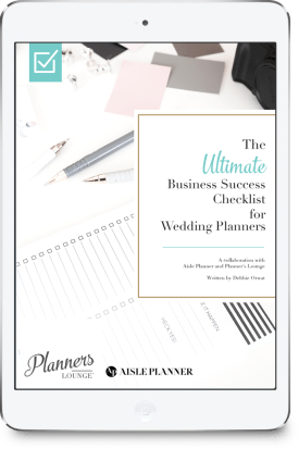 The best checklist of business tasks for wedding and event planners to manage their business {via Planner's Lounge}