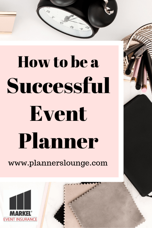 tips for being a successful event planner