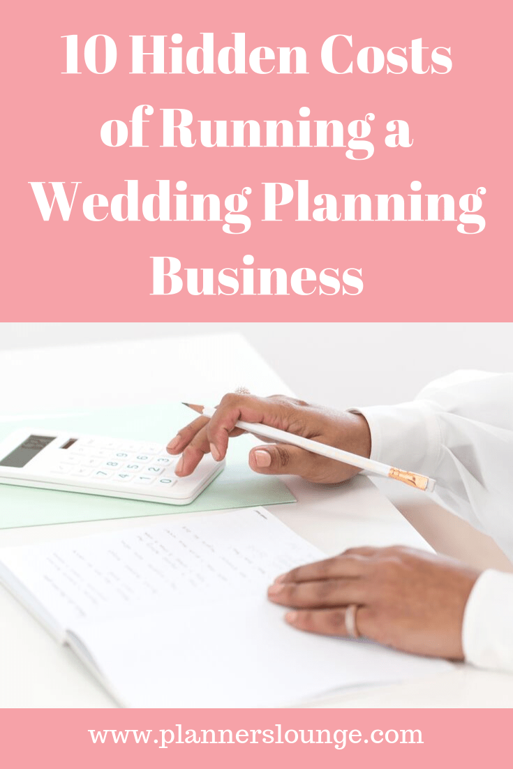 Every year wedding business owners make an annual budget to determine their expenses. Often there are costs that are not accounted for and can be a surprise when they come up. 