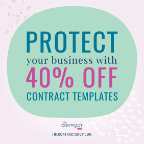wedding planning contract discount code