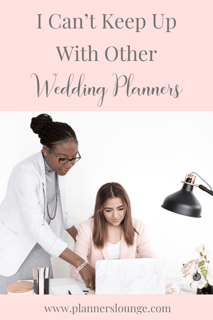 The Stress of Keeping Up With Other Wedding Planners