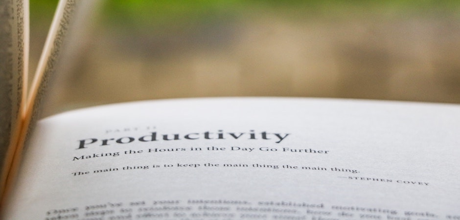 9 Tips to Increase Productivity (Book Review)