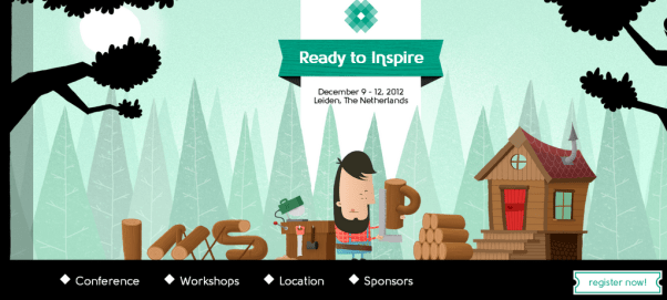 Good Event Website Design
