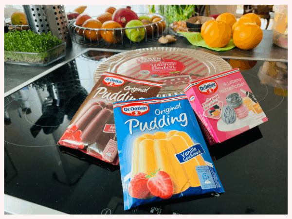 Pudding, Zutaten Kuchen, planningmathilda