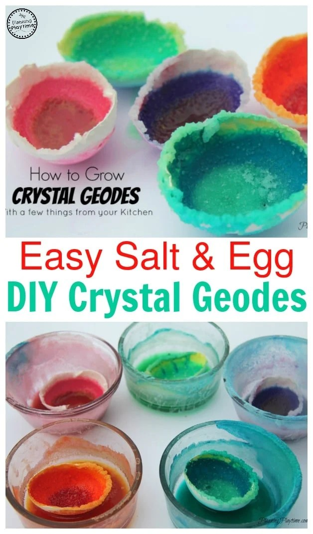 How to Grow Crystal Geodes - Easy recipe.