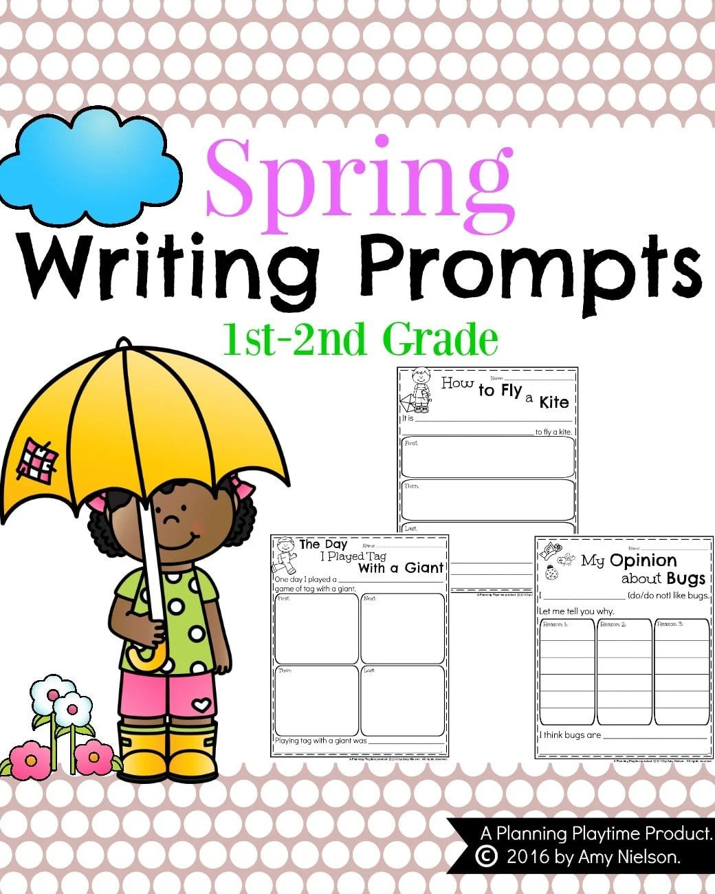 Free Spring Writing Activities For First Grade