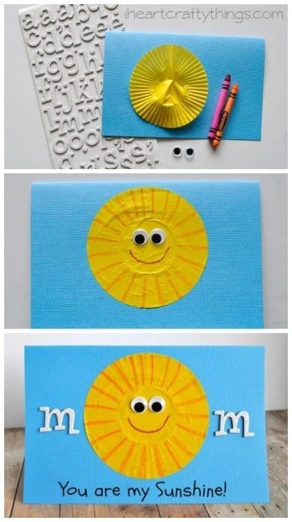 Adorable Mother's Day Card for Kids to make.