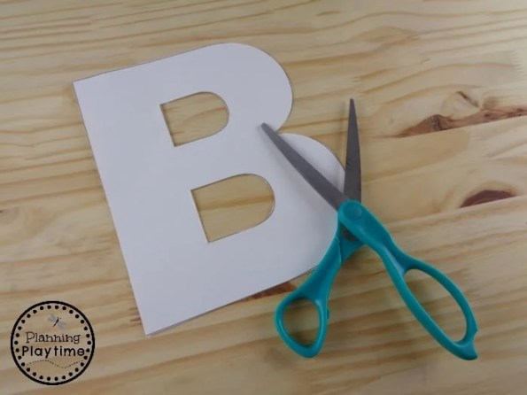 B is for Balloon Craft Template