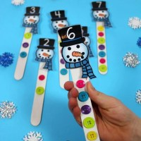Snowman Activities for Preschool