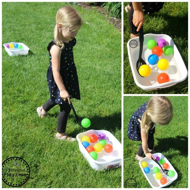 Outdoor Toddler Activities for Summer. #toddler #toddleractivities #ideasfortoddlers #planningplaytime #ad #summerfun #outdoorplay
