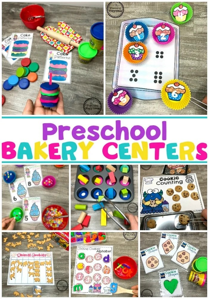 Preschool Bakery Theme Centers