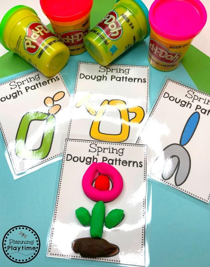 Spring Preschool Theme - Fun Activities and Centers