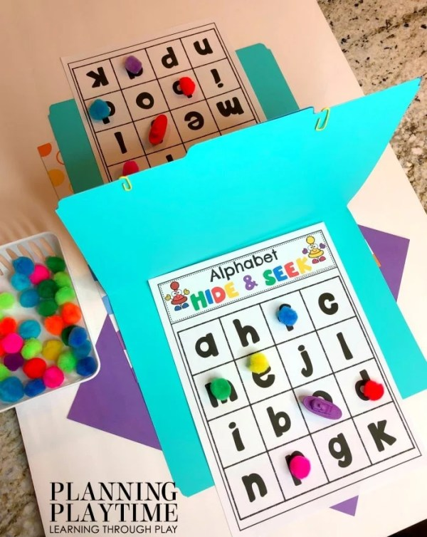 Fun Alphabet Games for Kids - Preschool Games Alphabet Battleship