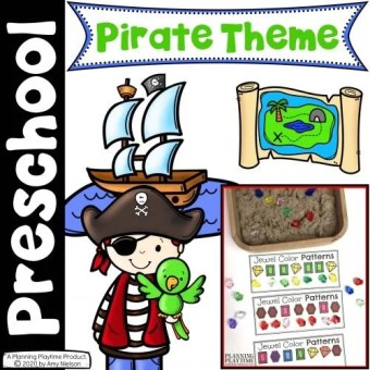 Pirate Activities for Preschool