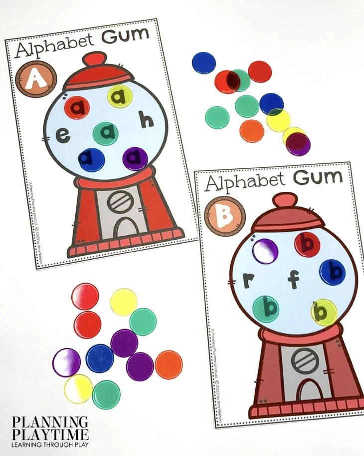 Alphabet Activities for Preschool - Letter Hunt