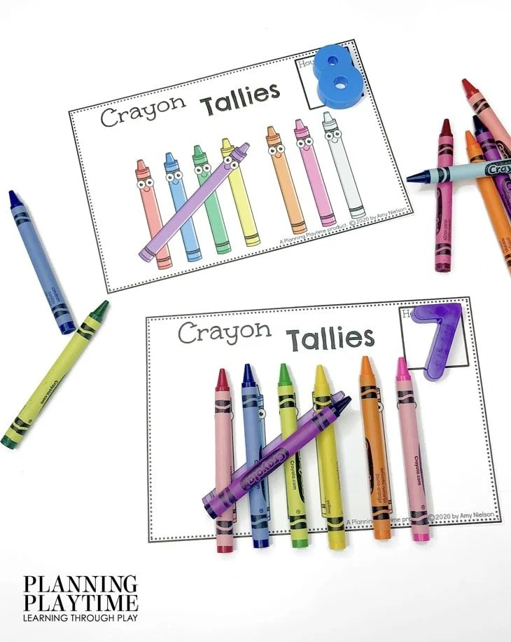 Math Activities for Preschool - Tallies