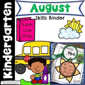 August Kinder Binder