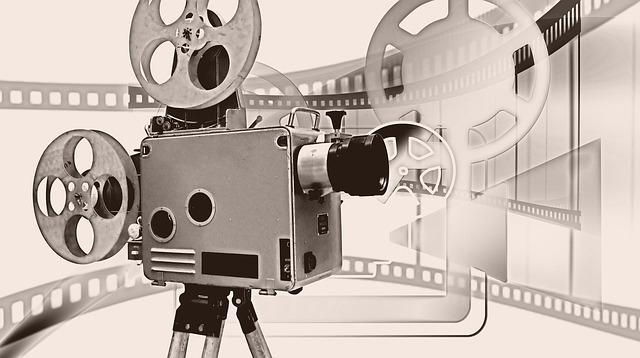 movie camera entertainment
