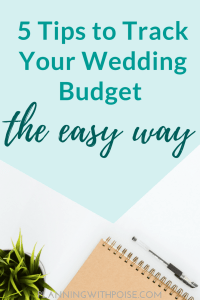 Track Your Wedding Expenses