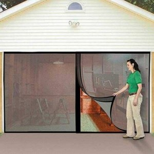 screen for garage door