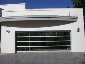 Hurricane Line's BP Glass Garage Doors