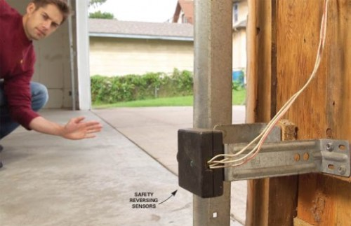garage Door Won't Close Or Reverses