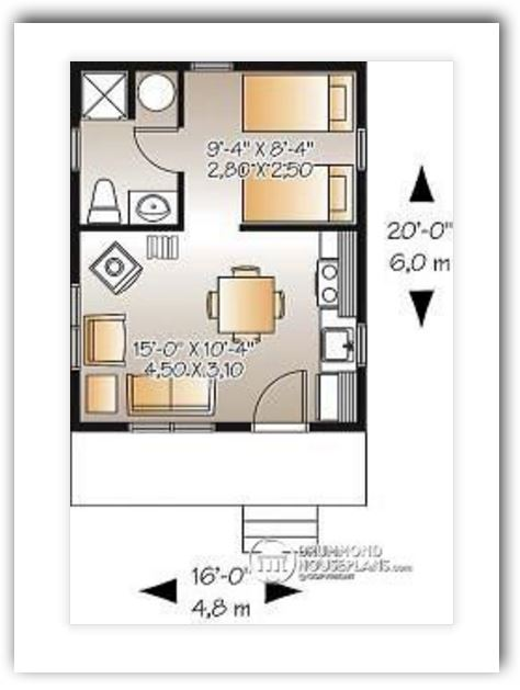 Planos Y Fachadas De Casas Bonitas Y Pequeas De 60 Y 70