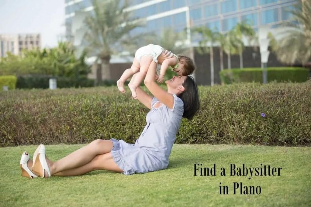 Find a Babysitter in Plano