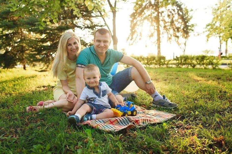 family photo family
