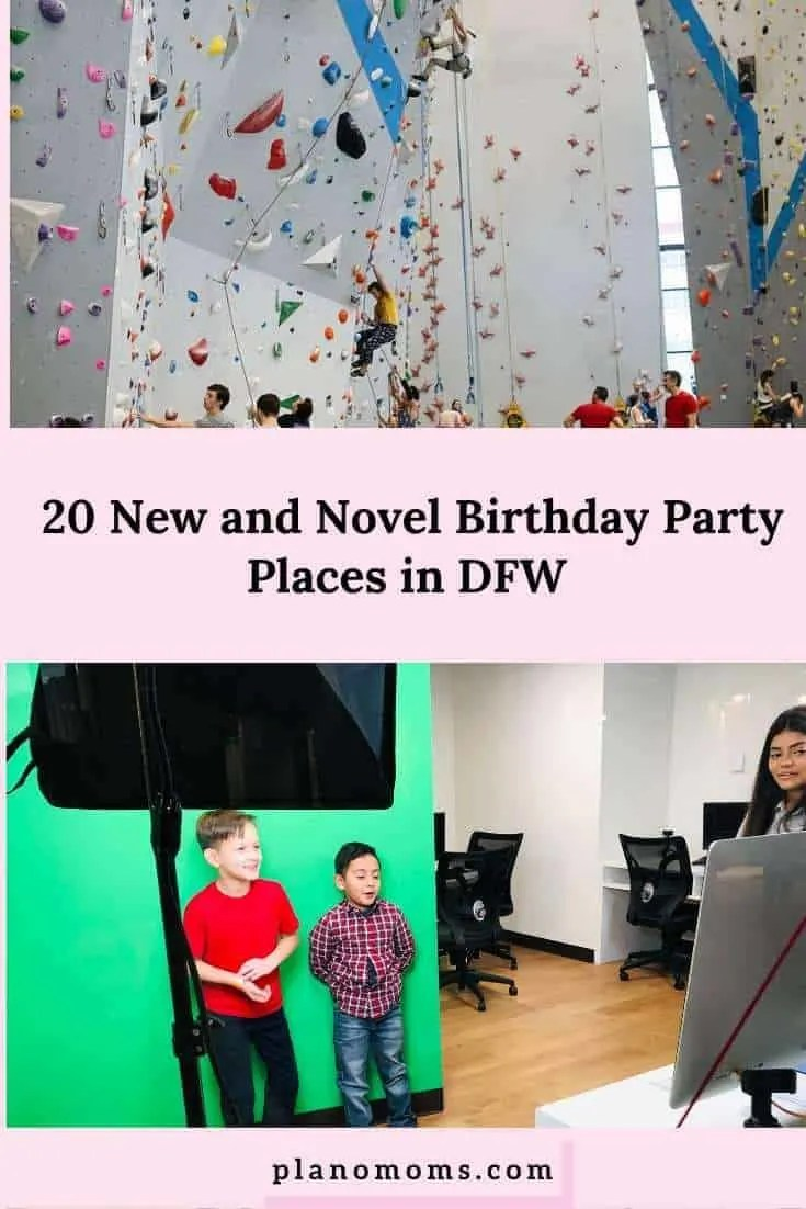 20 New And Novel Birthday Party Places In Dfw