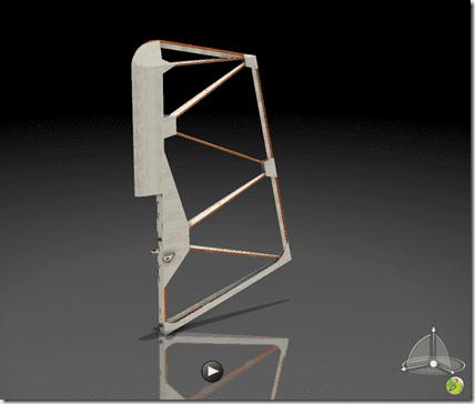 3D Catia V5 3dxmlplayer drapeau de derive SG38 14.35