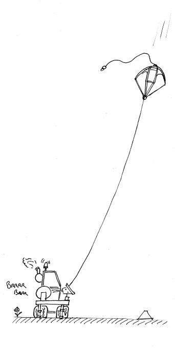 Treuil parachute_descente vol à voile