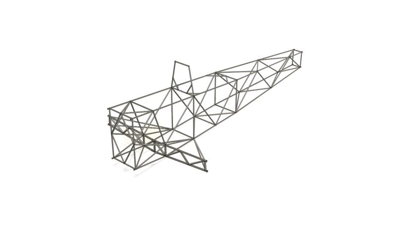 Nout fuselage tubulaire - fusion 360