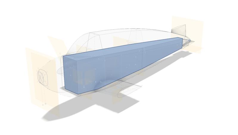 Fuselage tubulaire Nout Fusion 360 - Prisme départ